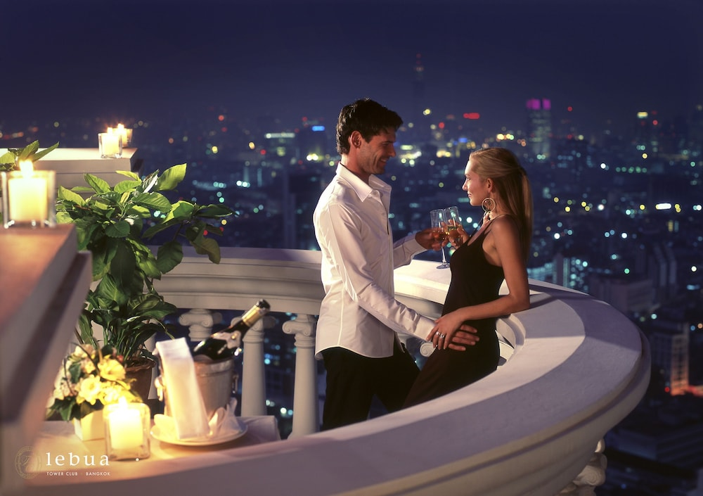 Balcony, Tower Club at lebua (The World's First Vertical Destination)