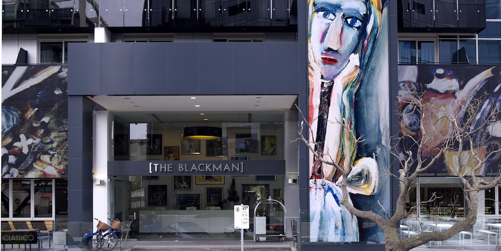Exterior, Art Series - The Blackman