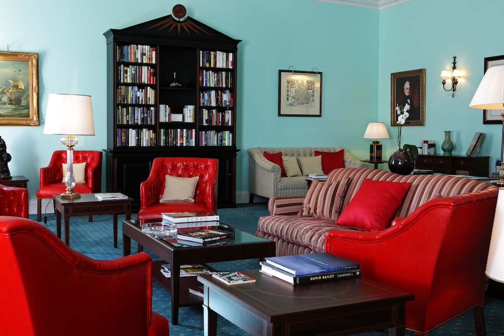 Library, The Yeatman Hotel