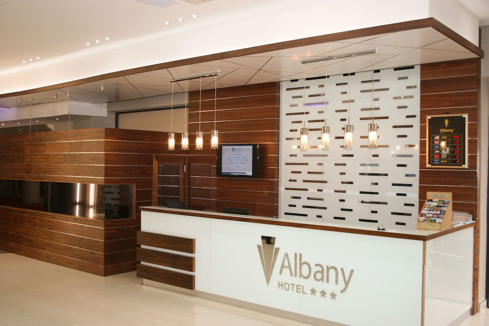 Interior Entrance, The Albany Hotel