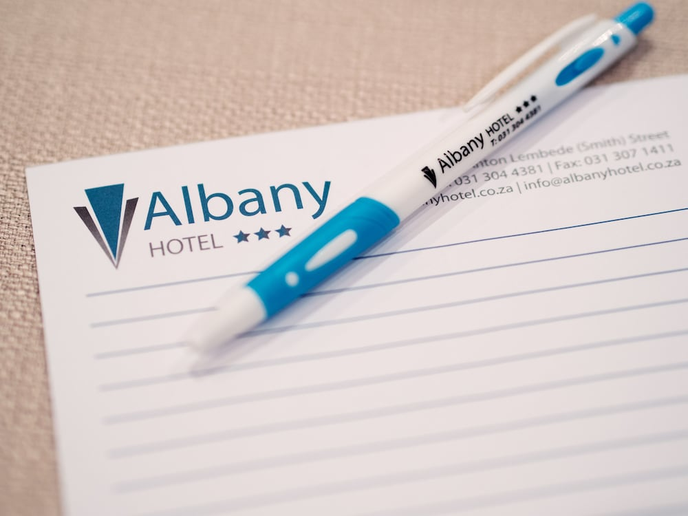 Room Amenity, The Albany Hotel