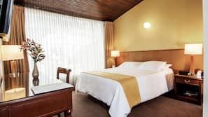 1 slaapkamer, Tempur Pedic-bedden, een minibar, een kluis op de kamer