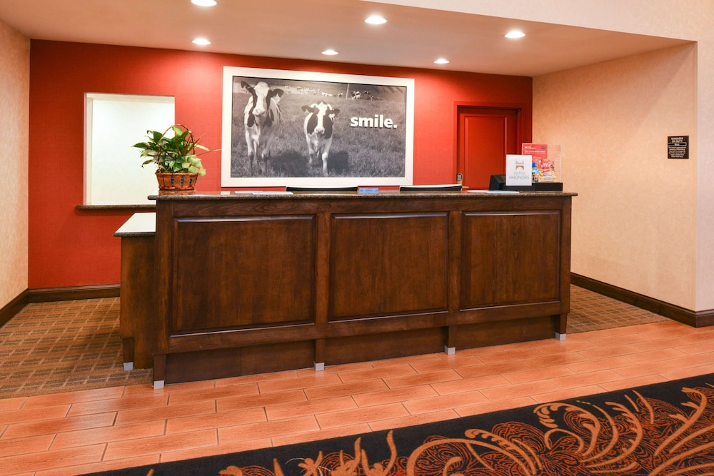Reception, Hampton Inn Williamsburg
