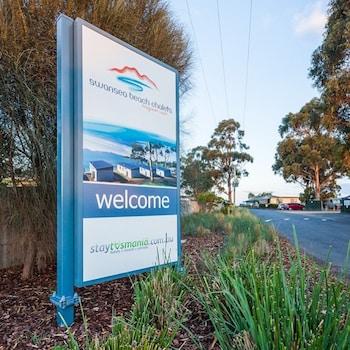 Swansea Beach Chalets Tasmania Australia