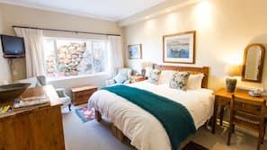 6 chambres, literie de qualité supérieure, couette en duvet d'oie