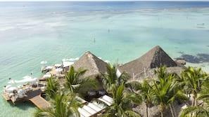 Private beach, windsurfing, kayaking