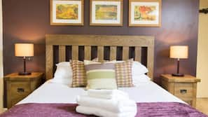 Cots/infant beds, free WiFi, bed sheets, wheelchair access