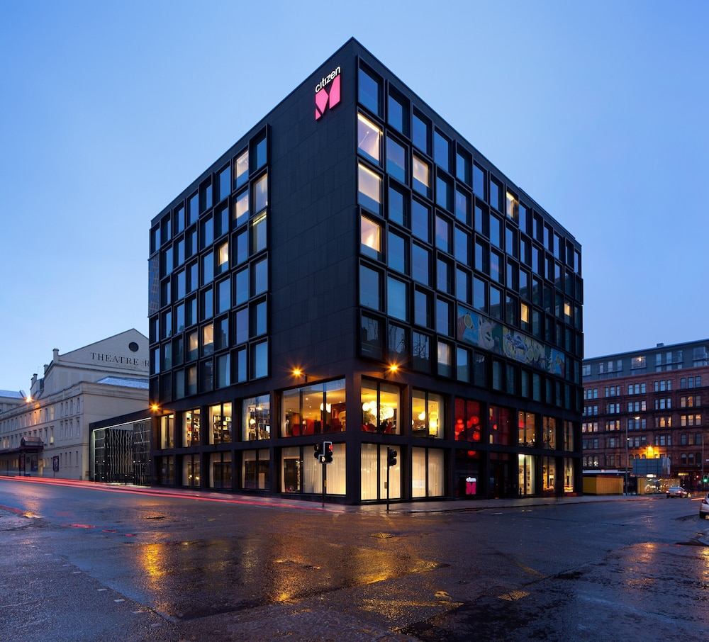 Exterior, citizenM Hotel Glasgow