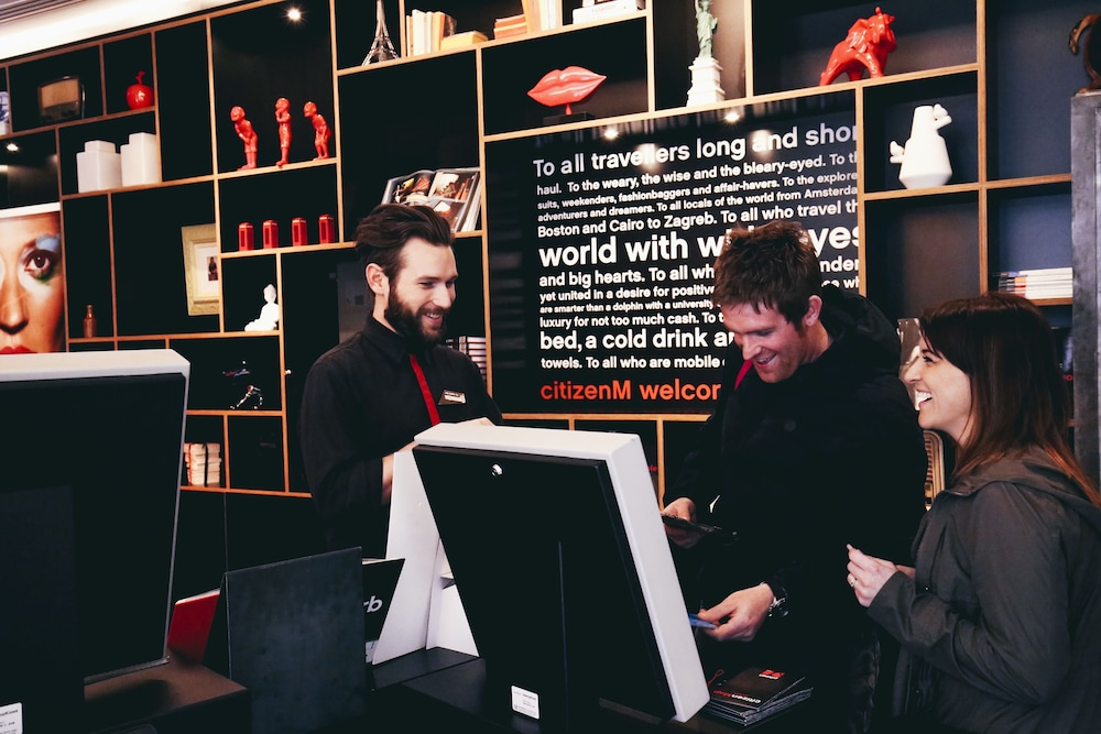 Check-in/Check-out Kiosk, citizenM Hotel Glasgow