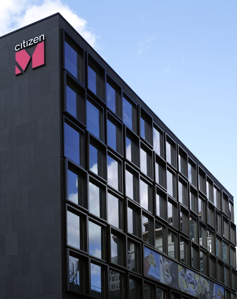 Front of Property, citizenM Hotel Glasgow