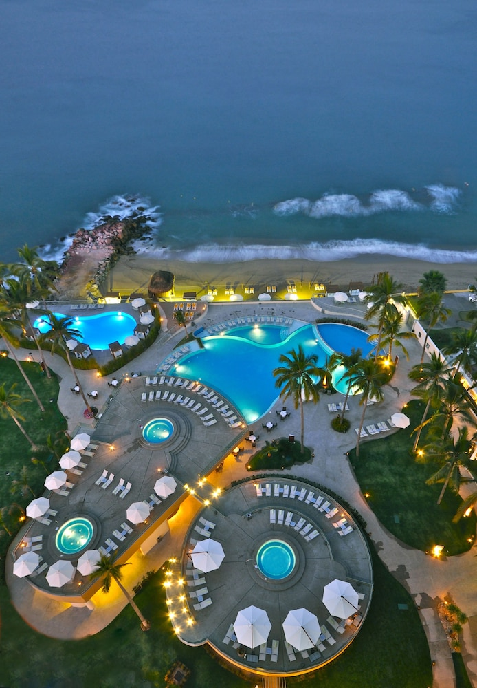 Aerial View, Sunset Plaza Beach Resort & Spa Pto Vallarta All Inclusive