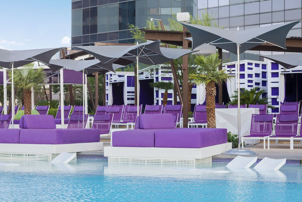 Outdoor Pool, The Cosmopolitan Of Las Vegas