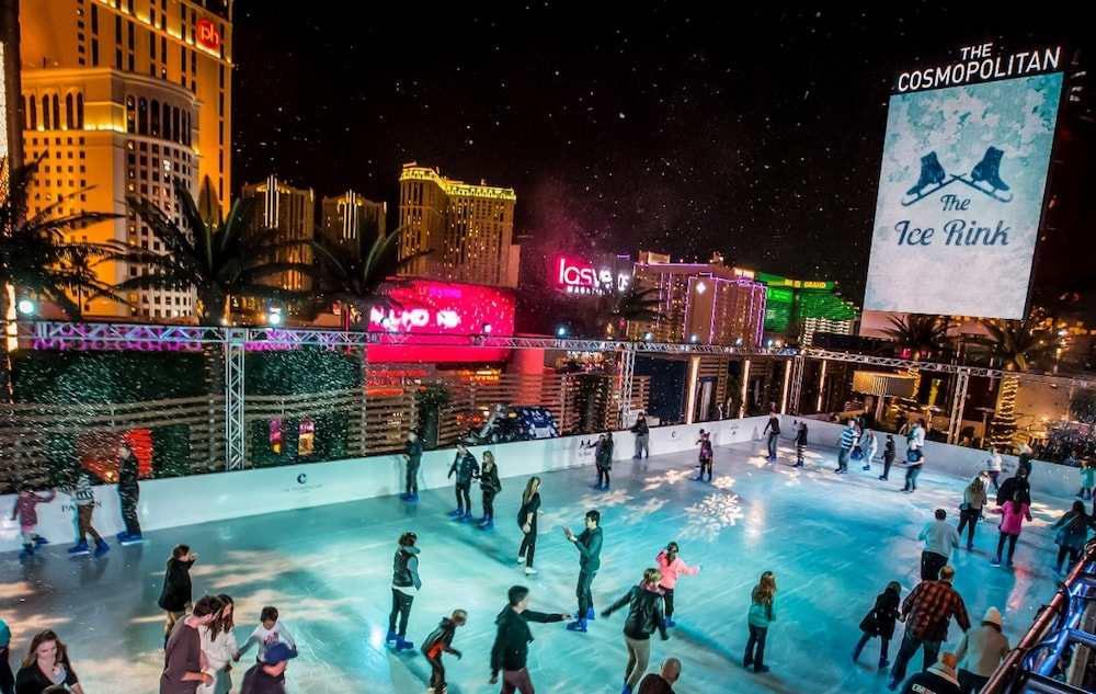 Ice Skating, The Cosmopolitan Of Las Vegas