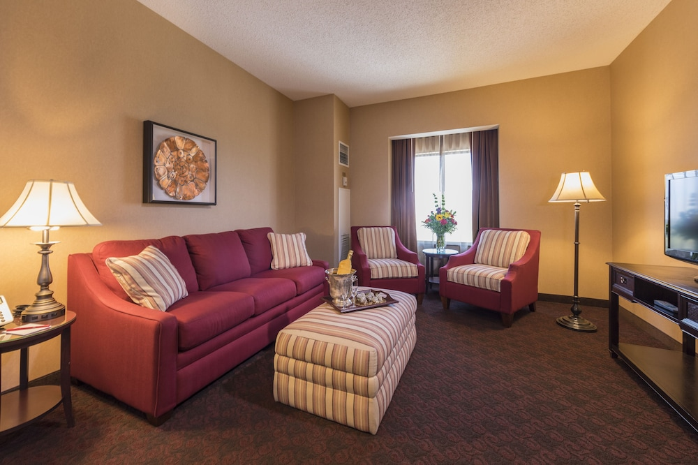 Living Area, Cherokee Casino & Hotel West Siloam Springs