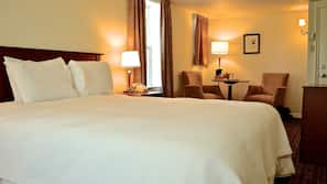 Premium bedding, pillow top beds, iron/ironing board, free WiFi