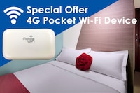Superior with 4G Pocket Wi-Fi Device