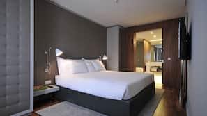 1 slaapkamer, hypoallergeen beddengoed, een minibar