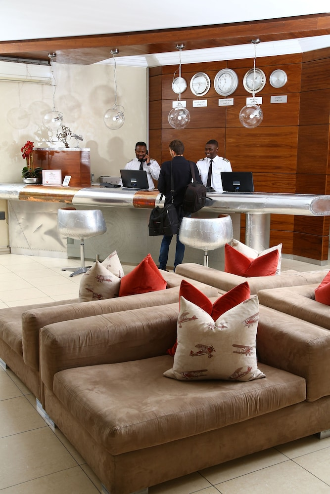 Reception, The Aviator Hotel OR Tambo International Airport