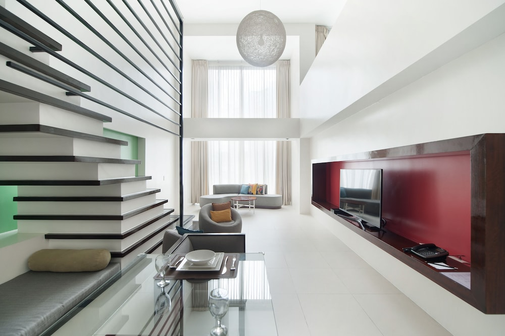 Living Area, The Picasso Boutique Serviced Residences