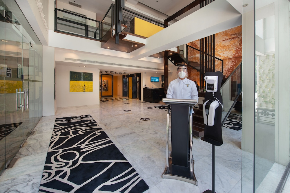 Interior Entrance, The Picasso Boutique Serviced Residences