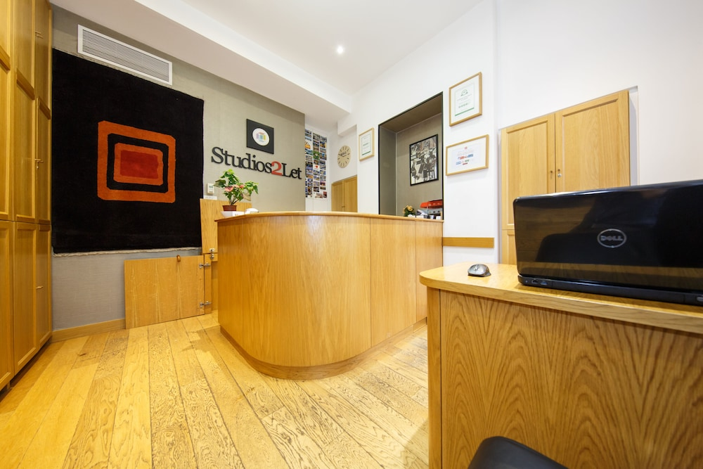 Reception, Studios 2 Let Serviced Apartments - Cartwright Gardens
