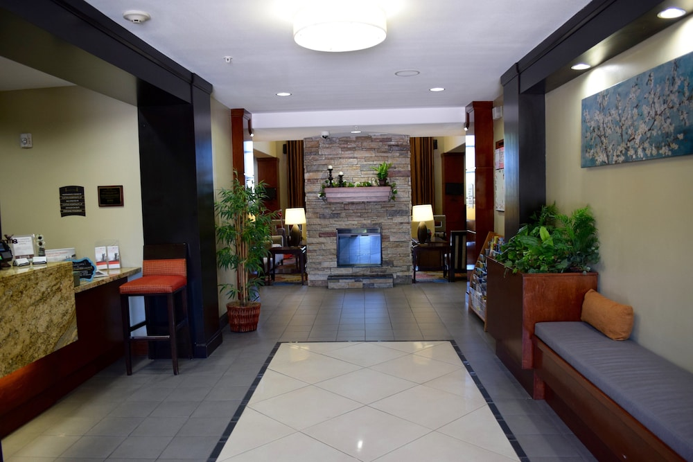 Lobby, Staybridge Suites Houston Stafford - Sugar Land, an IHG Hotel