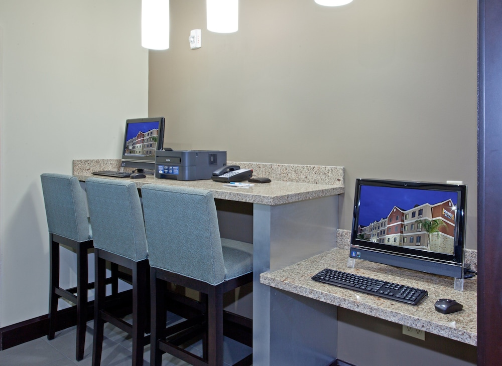 Business Center, Staybridge Suites Houston Stafford - Sugar Land, an IHG Hotel