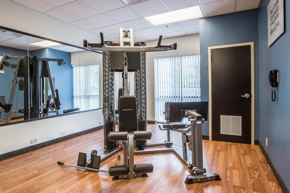 Fitness Facility, Comfort Suites Kingsport