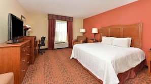 In-room safe, blackout drapes, iron/ironing board, free WiFi