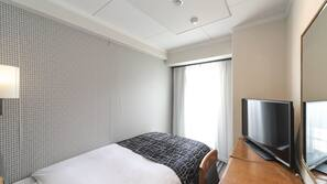 Down comforters, desk, free WiFi, wheelchair access