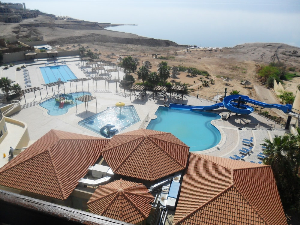 Aerial View, Dead Sea Spa Hotel