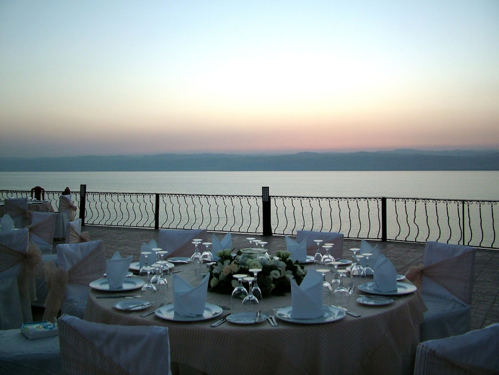 Terrace/Patio, Dead Sea Spa Hotel