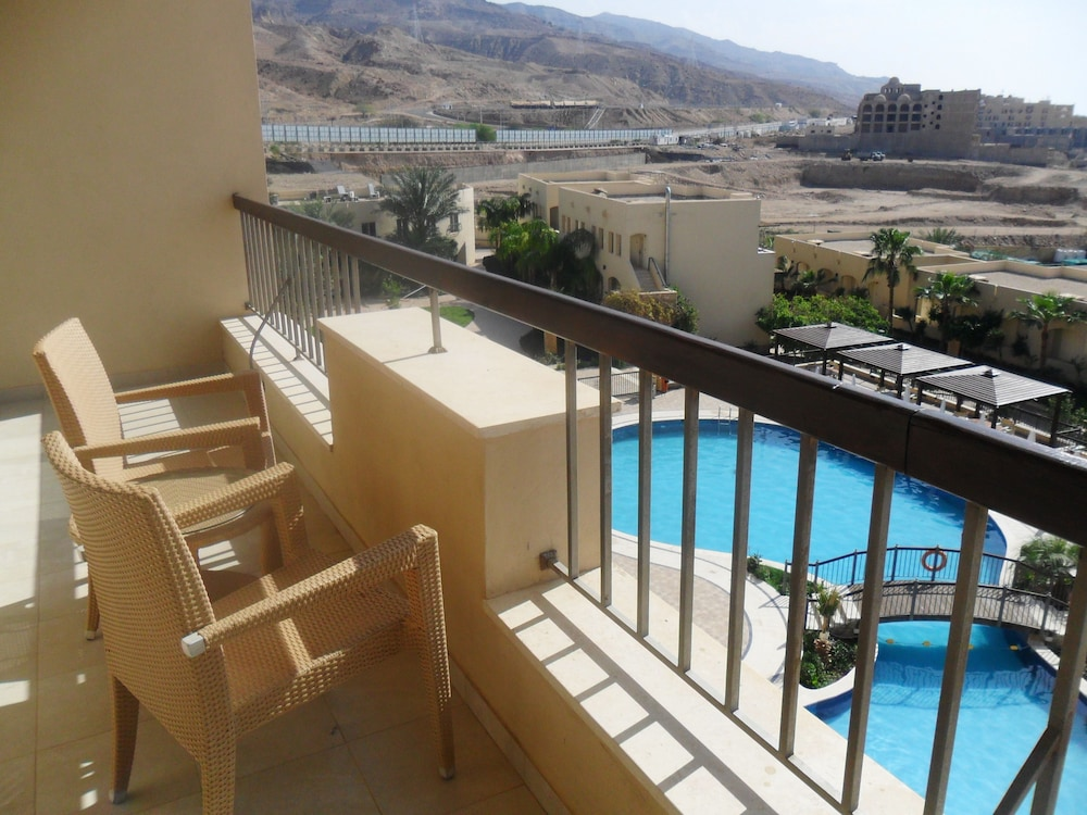 Balcony, Dead Sea Spa Hotel