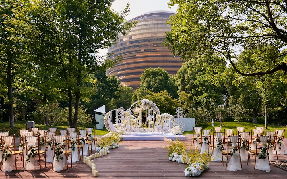 Outdoor Wedding Area, InterContinental Hangzhou, an IHG Hotel