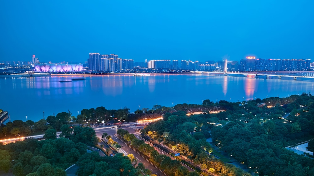 View from Room, InterContinental Hangzhou, an IHG Hotel