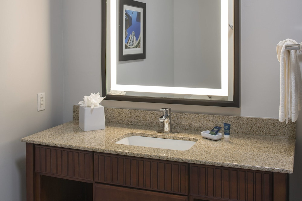 Bathroom, Four Points by Sheraton Houston Hobby Airport