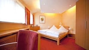 1 Schlafzimmer, hochwertige Bettwaren, Pillowtop-Betten, Minibar
