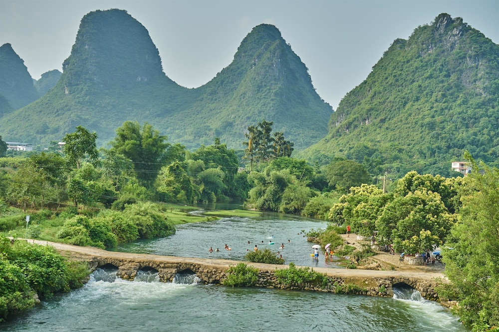 Natural Pool, Yangshuo Village Inn