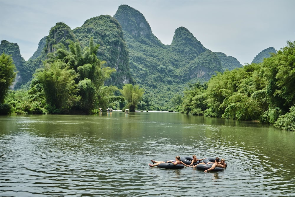 Rafting, Yangshuo Village Inn