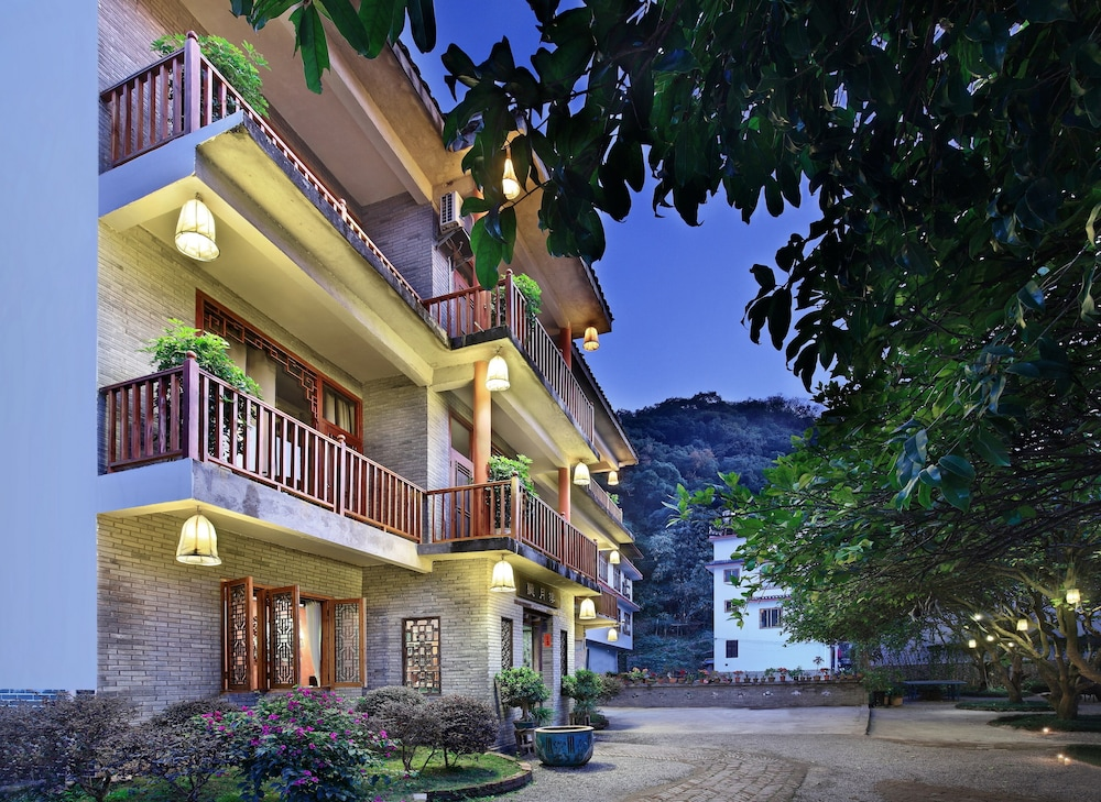 Front of Property - Evening/Night, Yangshuo Village Inn
