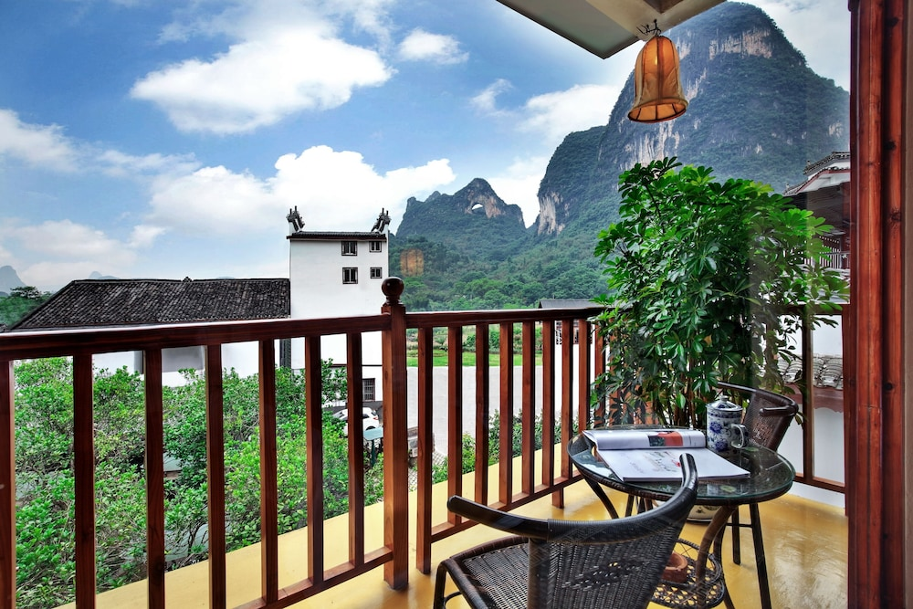 Balcony, Yangshuo Village Inn