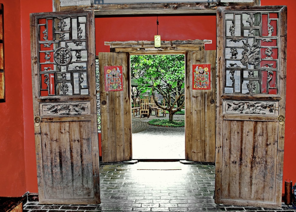 Interior Entrance, Yangshuo Village Inn