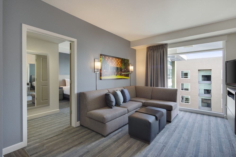 Living Area, HYATT house San Jose/Silicon Valley