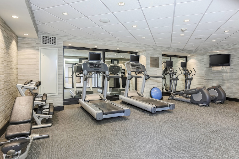 Fitness Facility, Courtyard by Marriott Amarillo Downtown