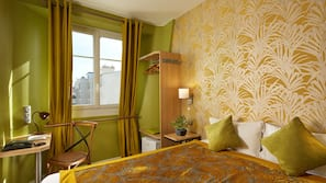 19 bedrooms, premium bedding, in-room safe, individually decorated