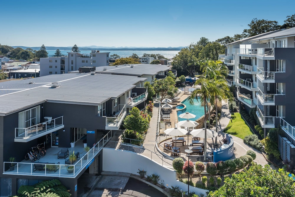 Aerial View, Mantra Nelson Bay