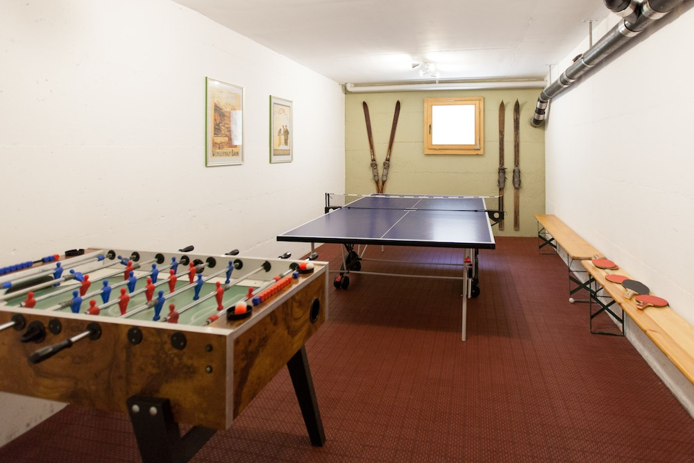 Game Room, Hotel Edelweiss