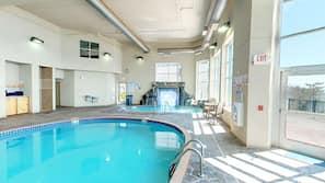 2 indoor pools, seasonal outdoor pool