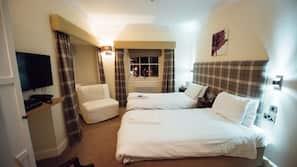 1 bedroom, premium bedding, down duvet, individually decorated