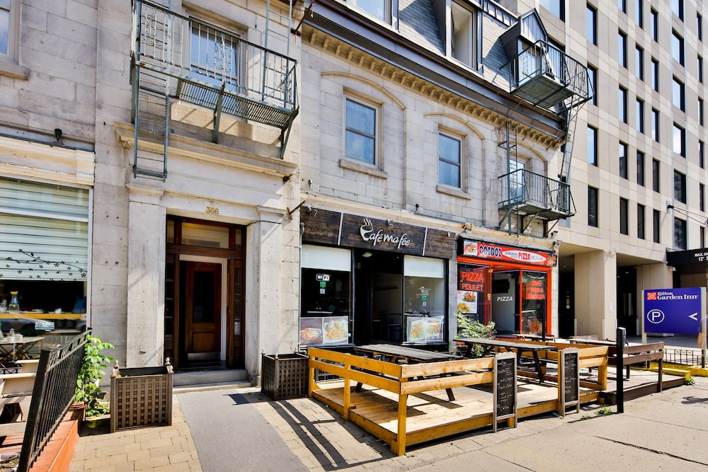 Residences apartment majestik downtown montreal in for Appart hotel montreal